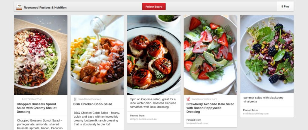 Chef Rachel's Pinterest - Salads
