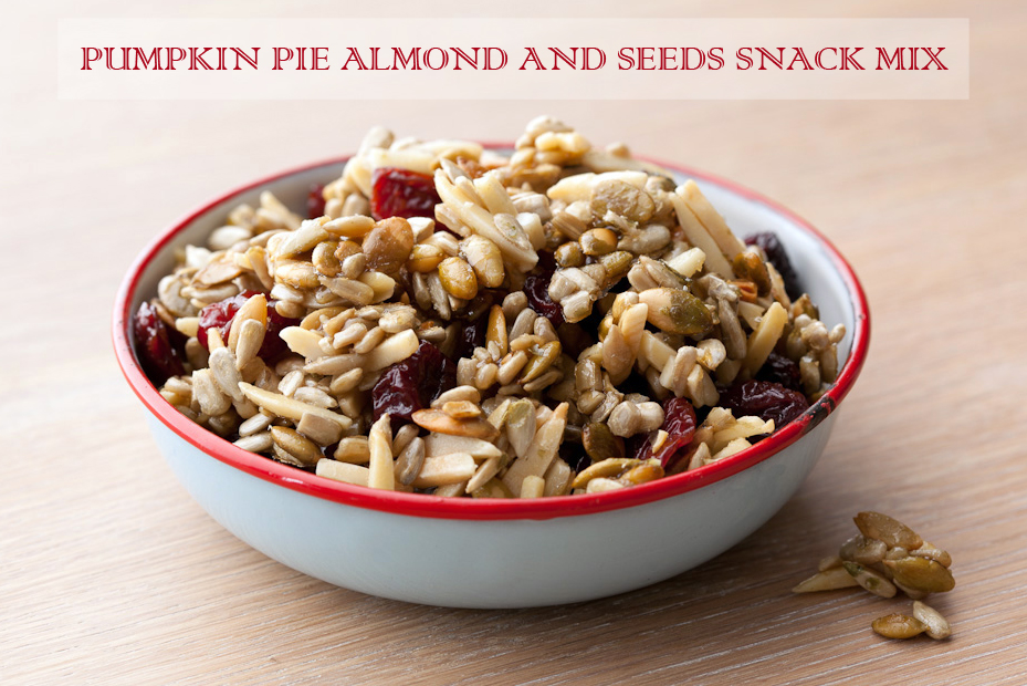 Pumpkin Pie Almond & Seeds Snack Mix