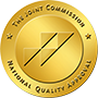 The Joint Commission Badge of National Quality Approval