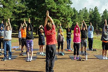 rosewood group yoga photo