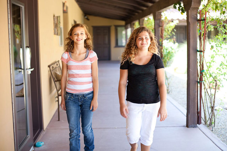 Teen eating disorder and camp