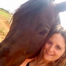 Alum Angie With Horse - Equine Therapy - Rosewood Centers For Eating Disorders