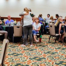 Rosewood Centers for Eating Disorders 2015 Alumni Reunion Dinner Hug
