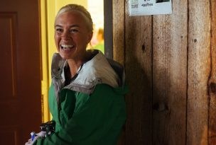 Rosewood Centers for Eating Disorders 2015 Alumni Reunion Girl in Green Jacket Smiling