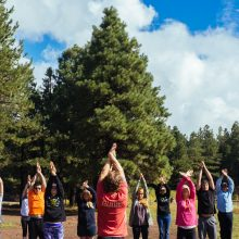 Rosewood Centers for Eating Disorders 2015 Alumni Reunion Yoga Poses