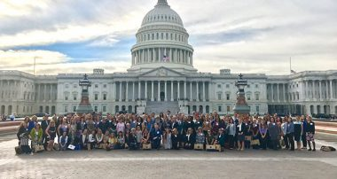 Rosewood Alumni Attend National Advocacy Day to Support Eating Disorder Awareness